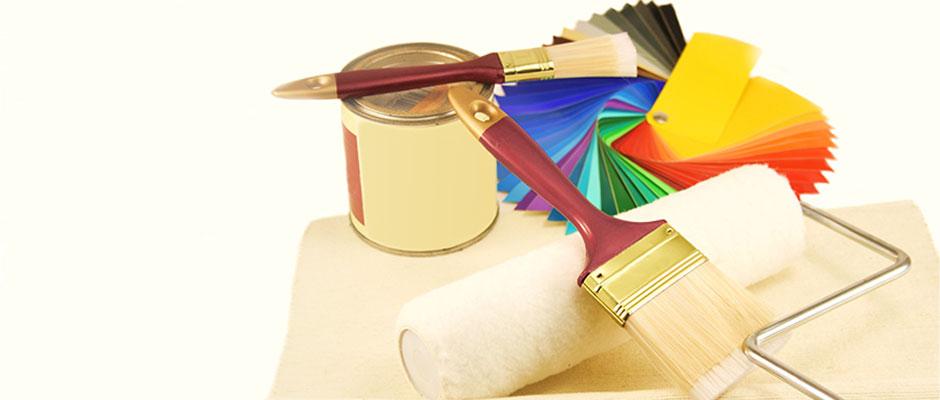 Farben und Tapeten sind unser Metier