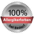 Bei Bedarf 100% Allergikerfarben