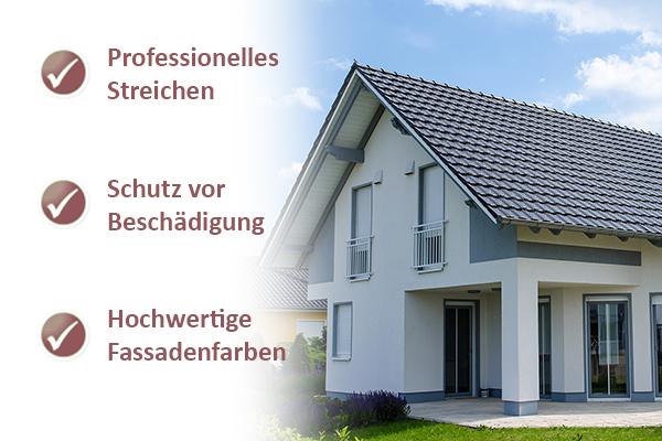 Fassade streichen Mülheim/Ruhr