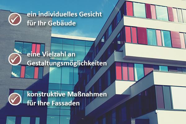 Fassadengestaltung Mülheim/Ruhr