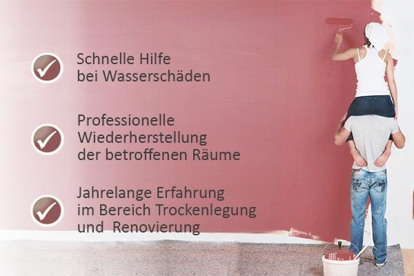 wasserschaden in Langenfeld